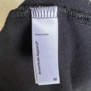 American Apparel Other - American Apparel Medium Black Halter Bodysuit